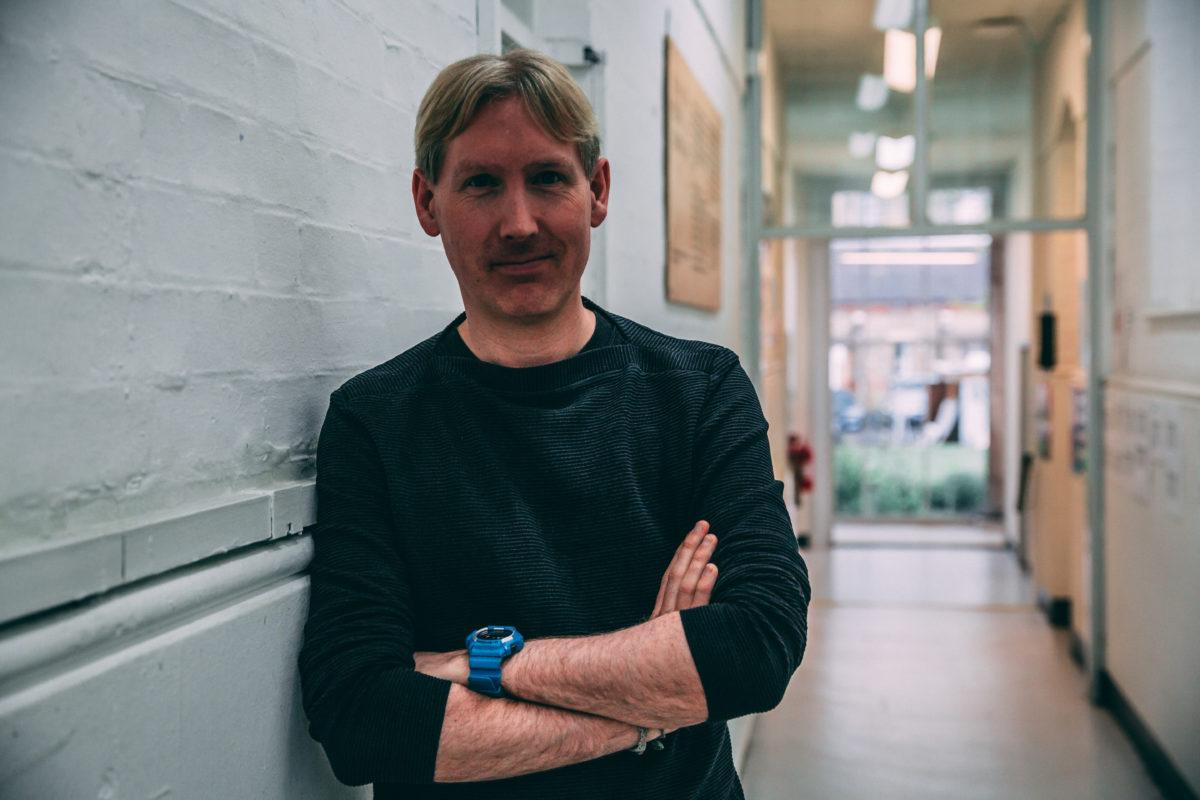 Portrait of Matthew Drinkwater