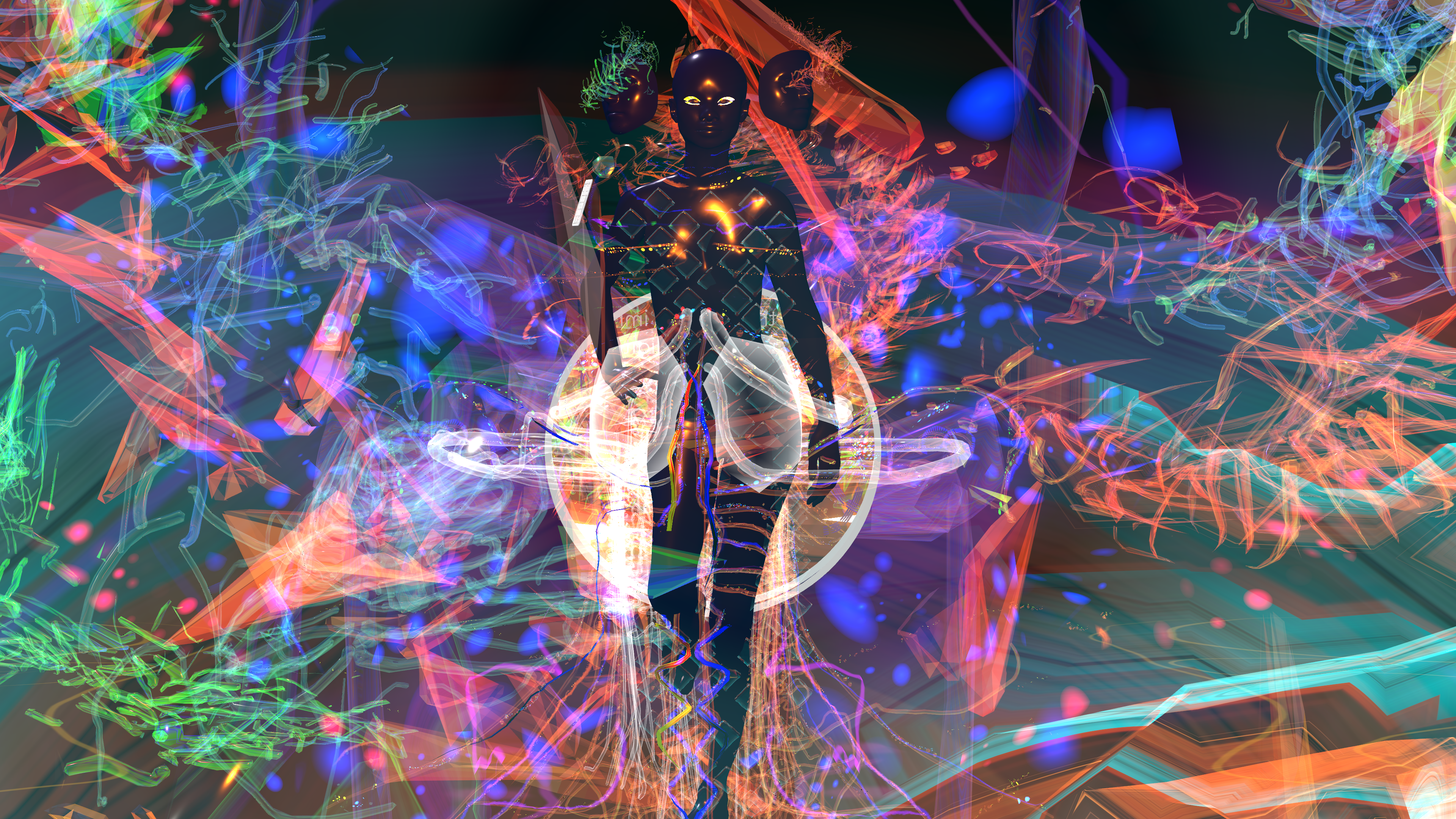 Digital avatar set within a virtual environment, Fashion Innovation Agency