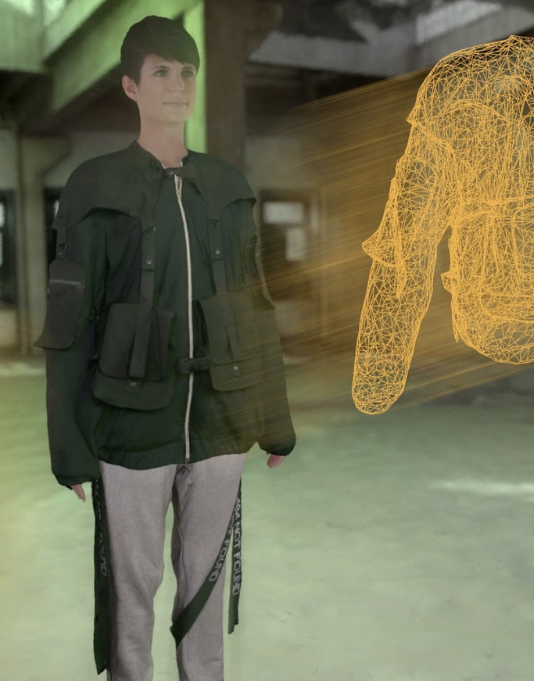 Virtual avatar trying on clothes, Reactive Reality, Fashion Innovation Agency