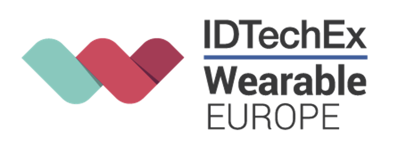IDTechEx Wearable Europe logo, speaking engagements