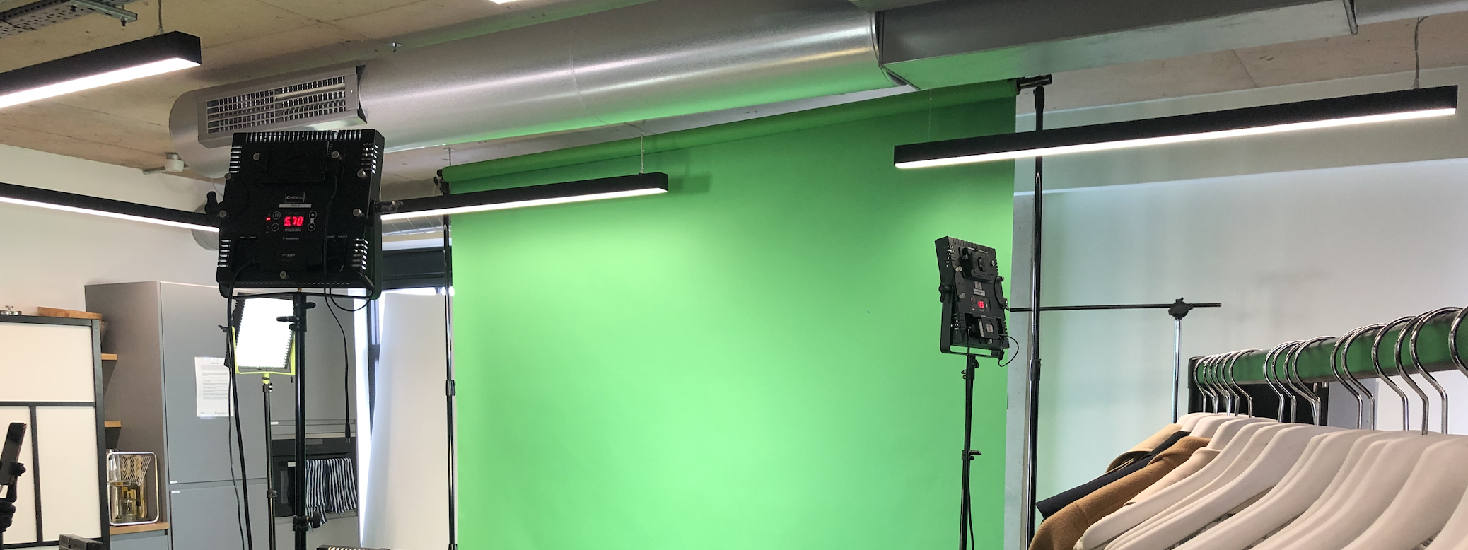 green screen capture setup, Fashion Innovation Agency
