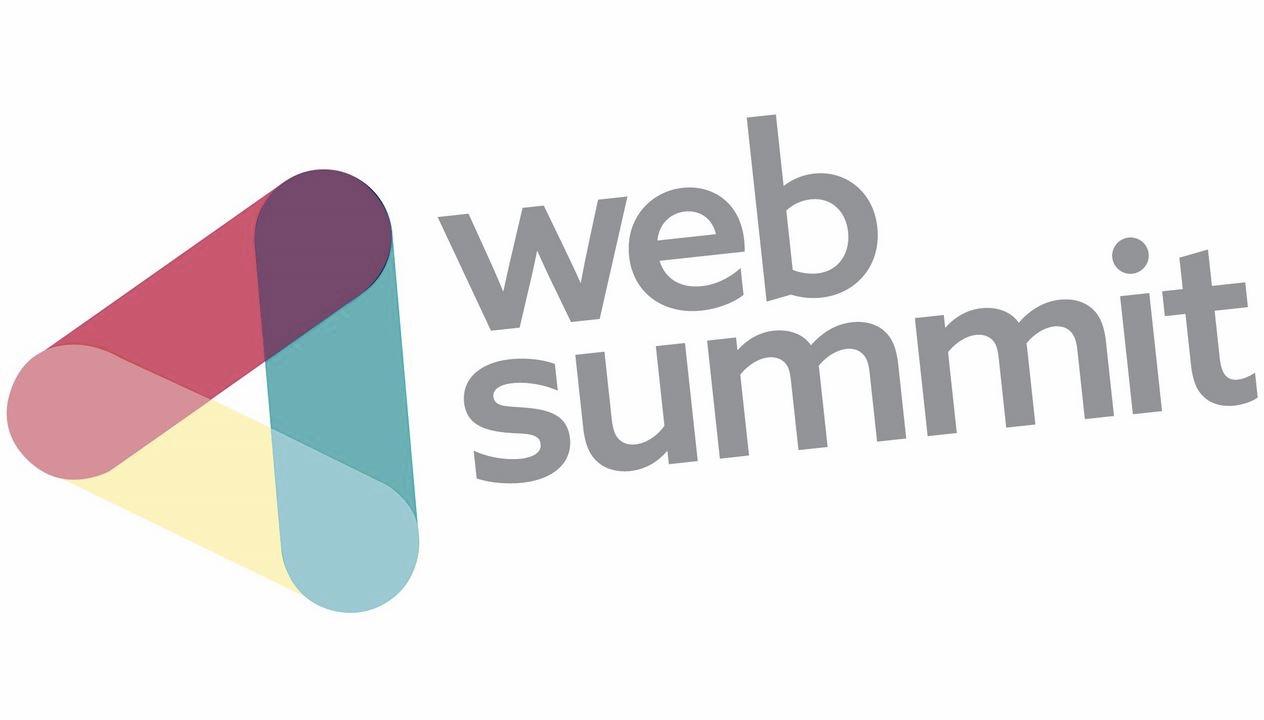 web summit logo, speaking engagements
