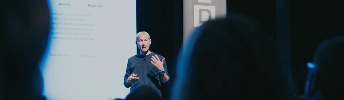 Matthew Drinkwater, public speaking, Wired, Fashion Innovation Agency
