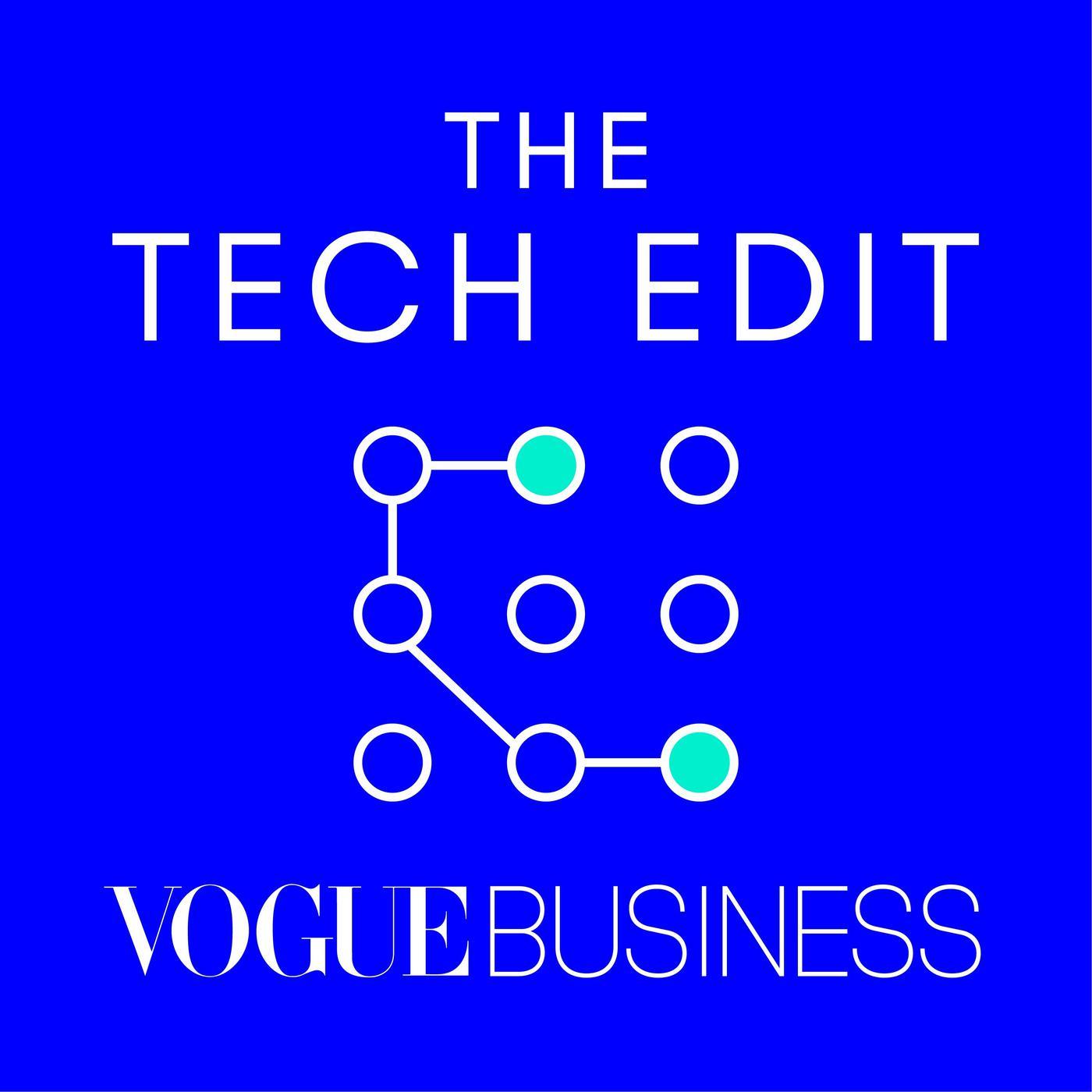 The tech edit, vogue business, logo