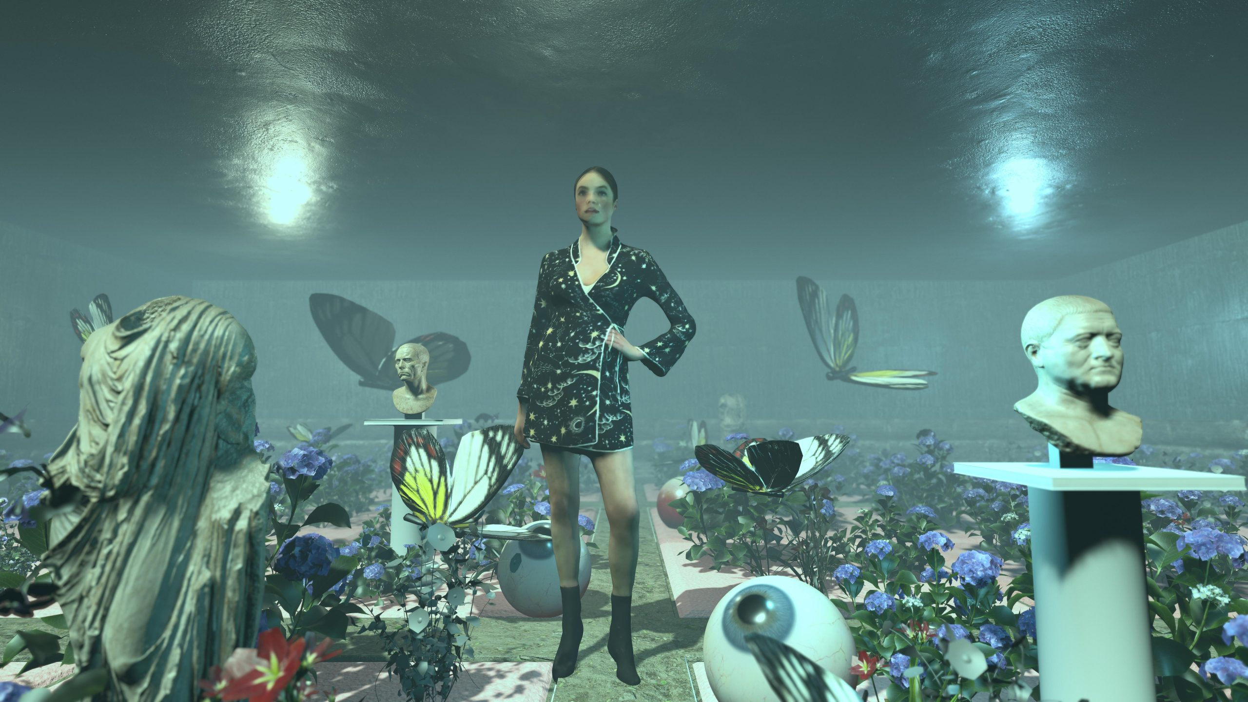 Muse under water